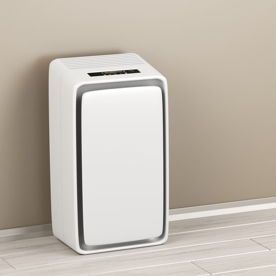 purifier in a room