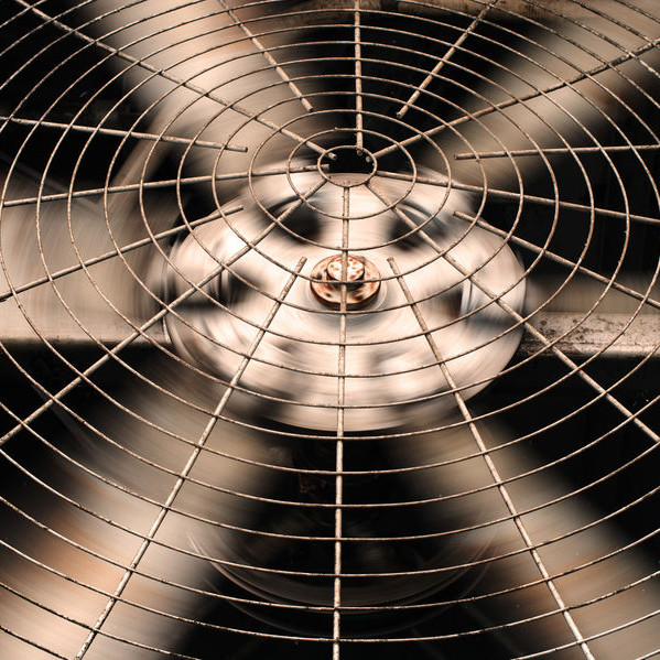 An air conditioning fan.