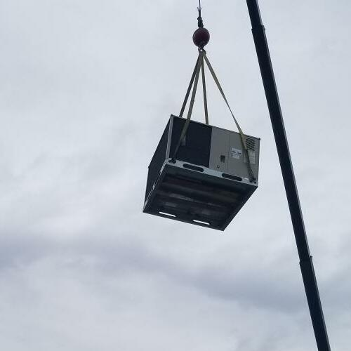 commercial HVAC replacement